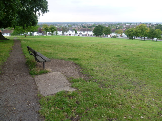 Seat with a view at Norwood Grove