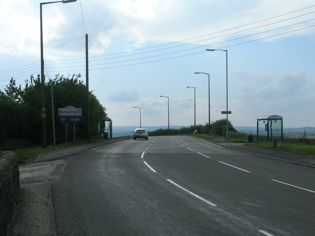 A630 towards Rotherham