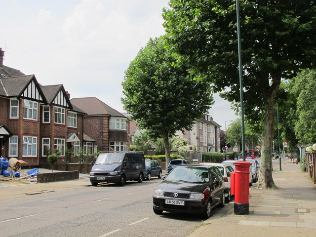 Anson Road (near Oman Avenue), NW2