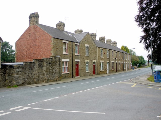Terraced houses, West End, Wolsingham