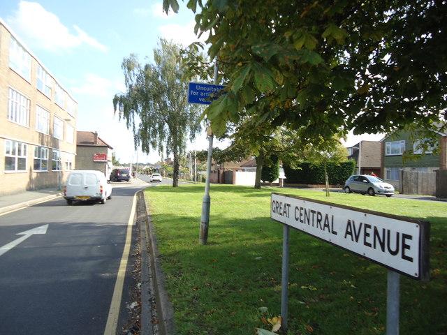 Great Central Avenue, South Ruislip