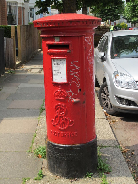 Edward VII postbox, Melrose Avenue, NW2