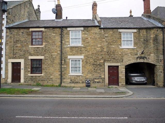 Houses on High Street, Wolsingham