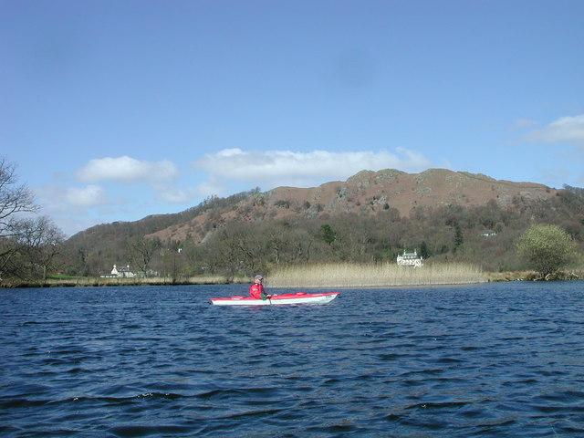 Kayak on Windermere