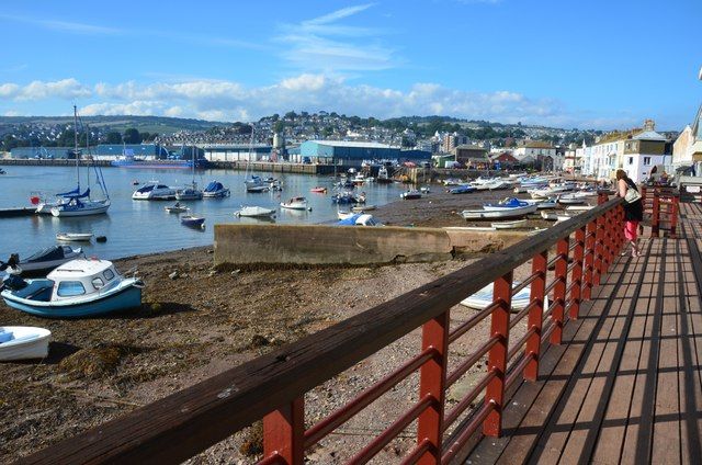 Teignmouth: The Harbour and Beach Front