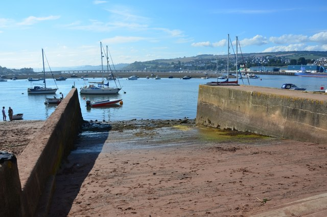 Teignmouth: Harbour and Slipway
