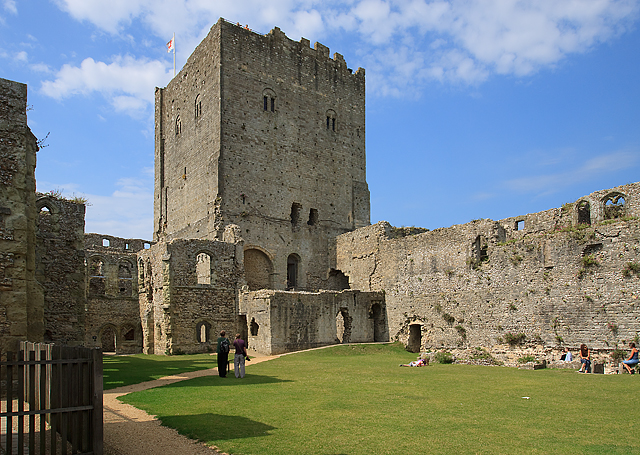 Portchester Castle - the Norman Keep
