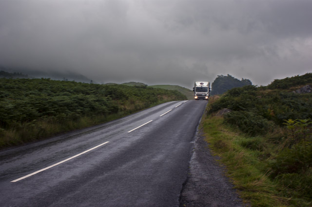 The road from Skelwith Bridge