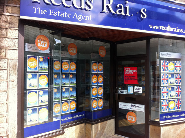 Reeds Rains estate agent, Bridge Gate Hebden Bridge