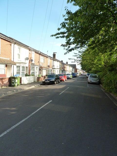 Looking northwards up Hartington Road