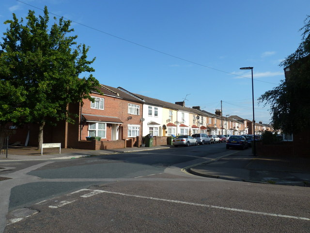 Junction of Northumberland and Wolverton Roads