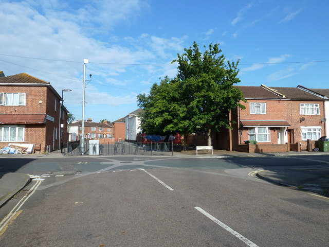 Junction of Wolverton and Northumberland Roads