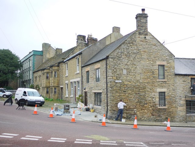 East corner of Front Street and The Causeway, Wolsingham