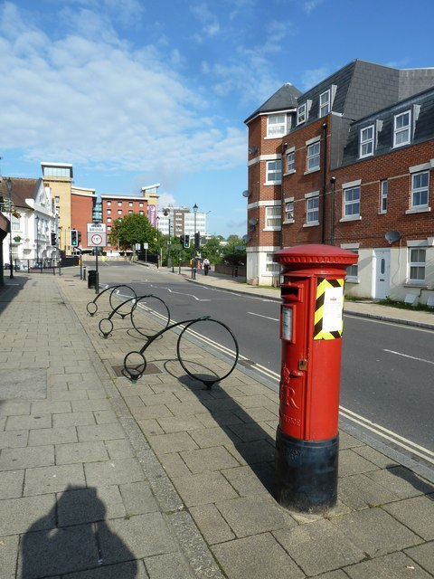 Postbox in Northam Street