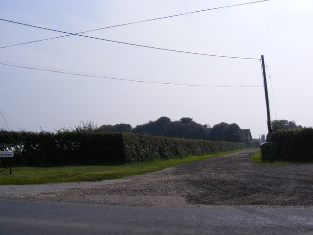 The Entrance to Old Hall Farm, Reydon