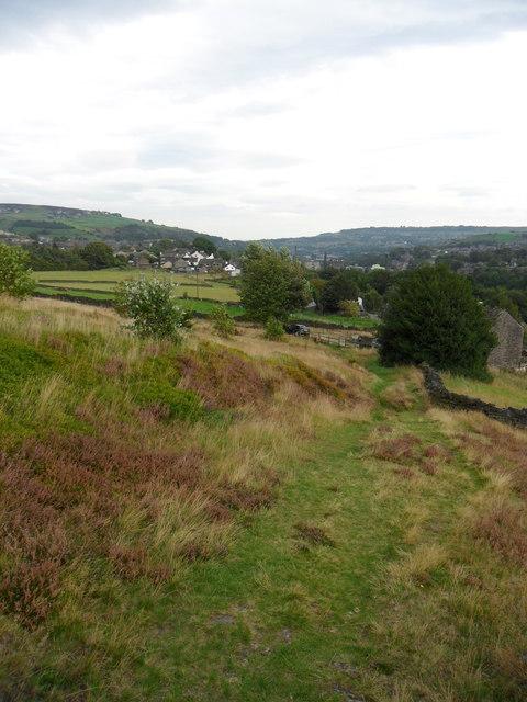 Footpath, Stones Laithe