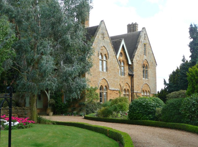 The former vicarage, Mears Ashby
