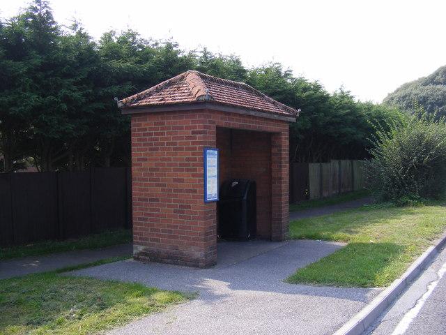 Halesworth Road Bus Shelter