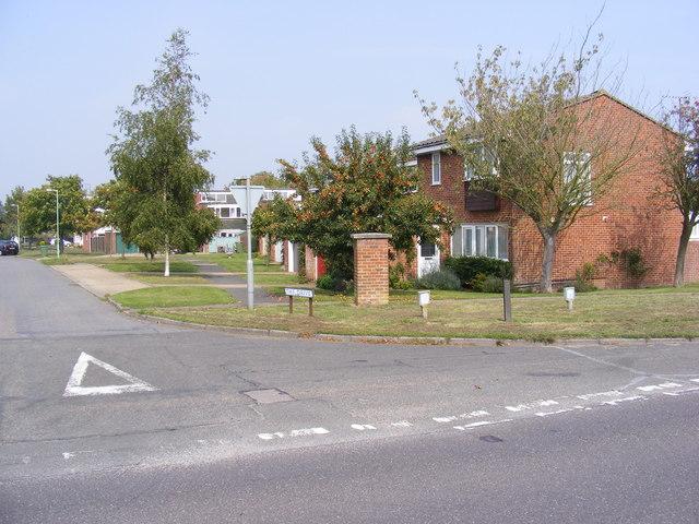 The Drive, Reydon & Halesworth Road Postbox