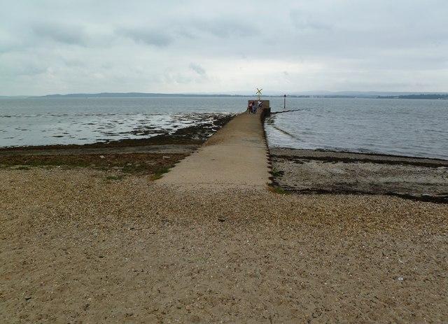 Lower Pennington, jetty