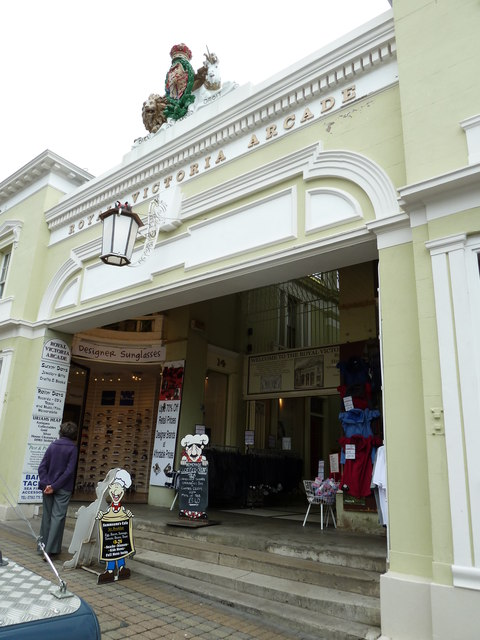 The Royal Victoria Arcade in the summer of 2011