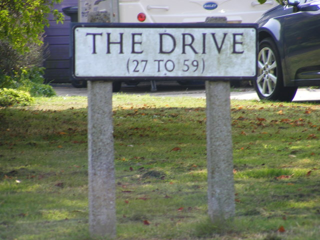 The Drive sign