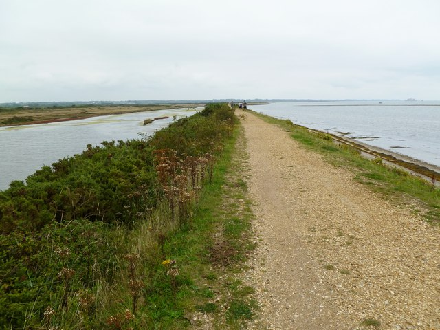 Pennington Marshes, coastal scenery