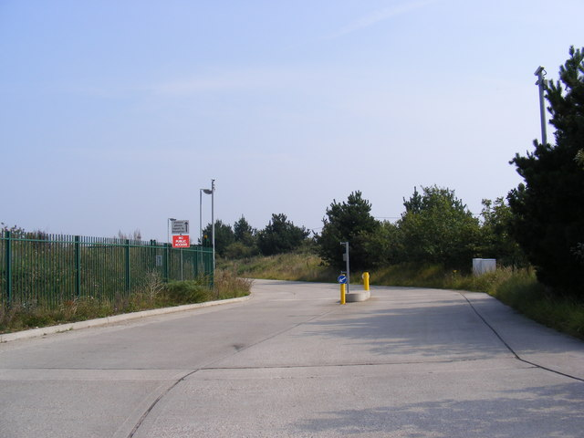The Entrance to Adnams Distribution Centre