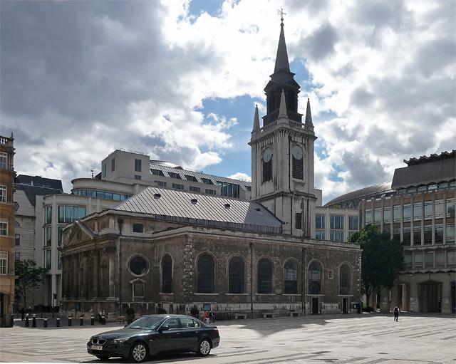 St Lawrence Jewry, Gresham Street