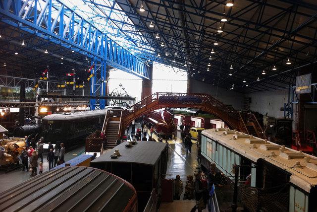 The Great Hall - National Railway Museum, York