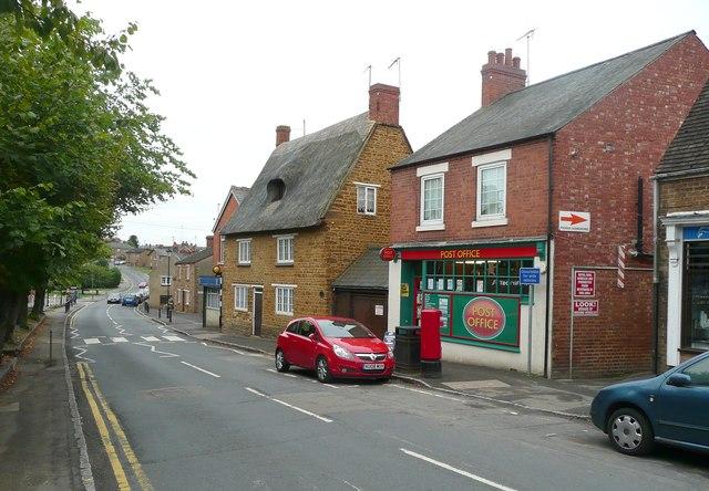 The post office, Doddington Road, Earls Barton