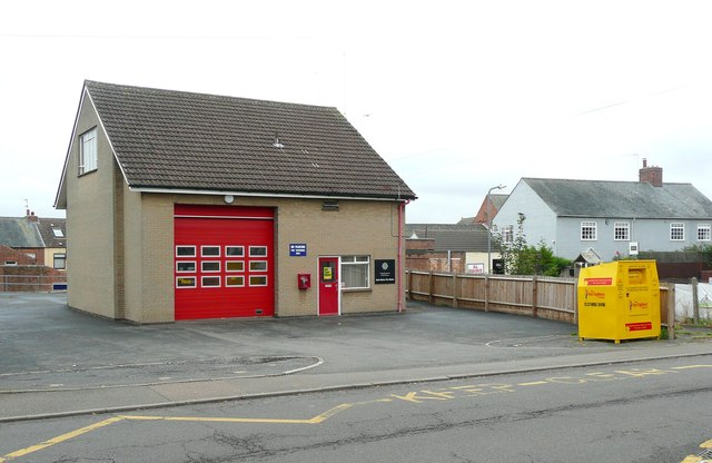 The fire station, Earls Barton