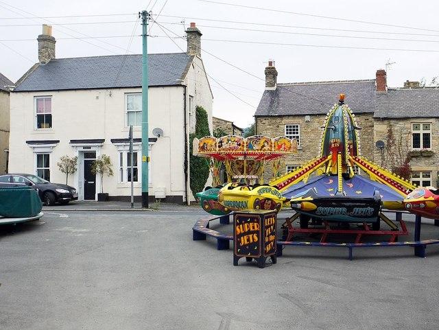 Fun fair, East End, Wolsingham