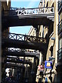 TQ3380 : Footbridges, Shad Thames by Colin Smith