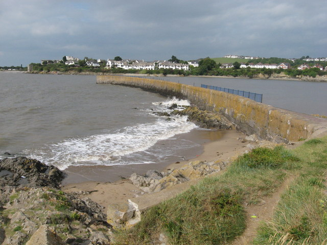 Breakwater at Barry Harbour