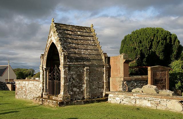 The Gordon Mausoleum at Borgue Parish Churchyard