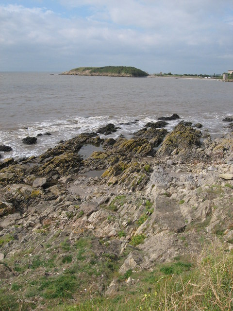 Looking from Little Island to The Knap, Barry