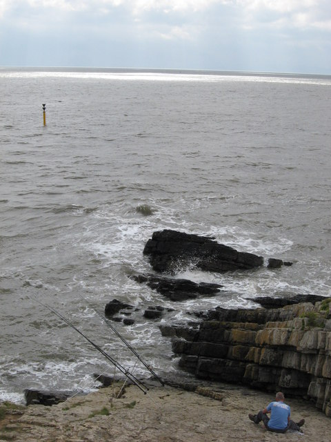 Fishing on Cold Knap Point
