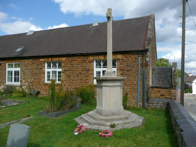 The war memorial, Wilby