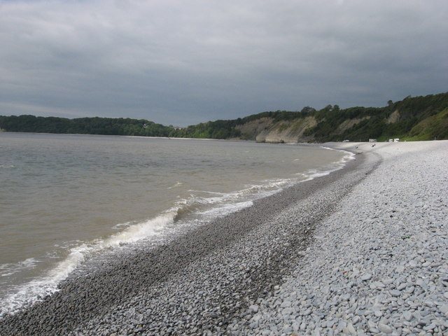 Pebble beach at The Knap