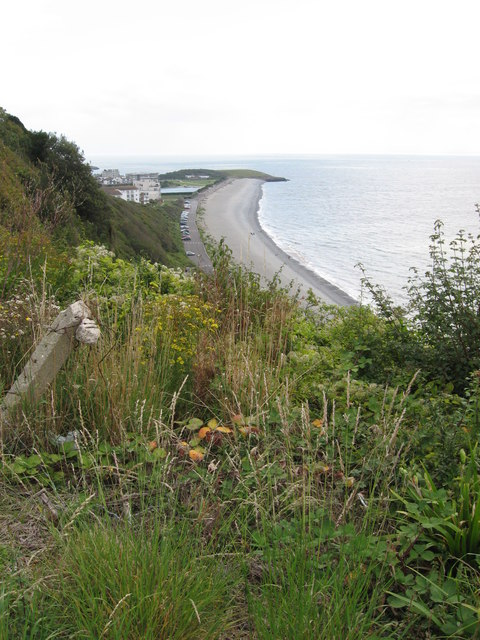 View of the Knap from Bull Cliff