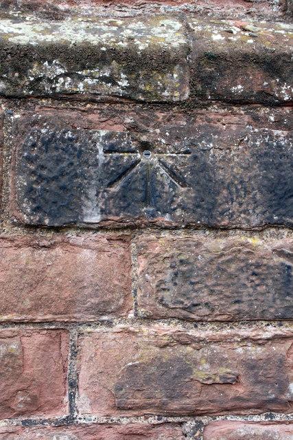 Benchmark on the castle inner keep