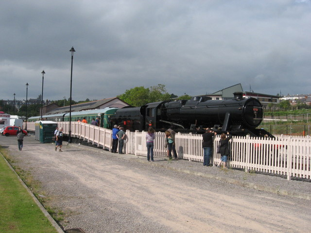 Turkish 8F at Barry