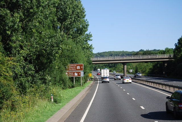A21, northbound