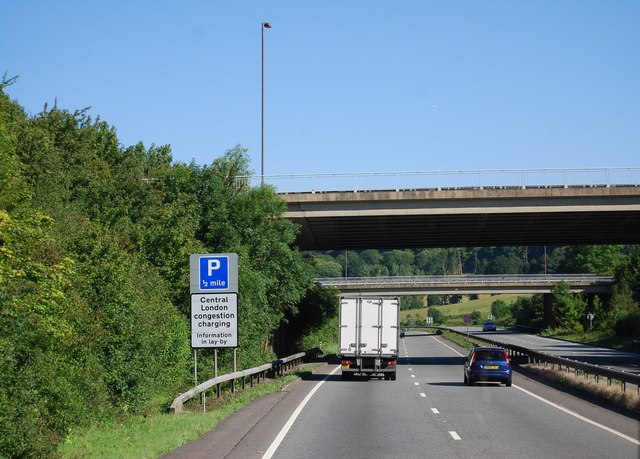 Morley Rd turnoff, A21