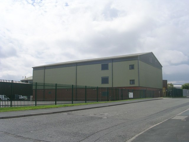 West Yorkshire Joint Services  - viewed from Thistle Way