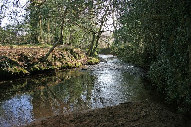 The Glaze Brook is a bridleway