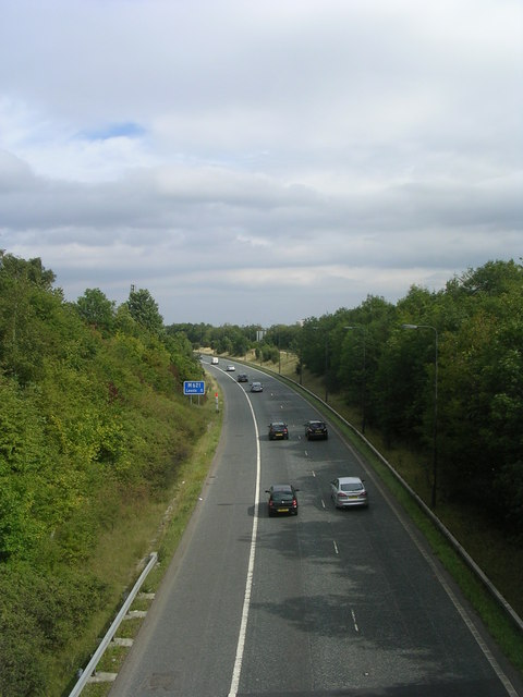 M621 - viewed from Wakefield Road
