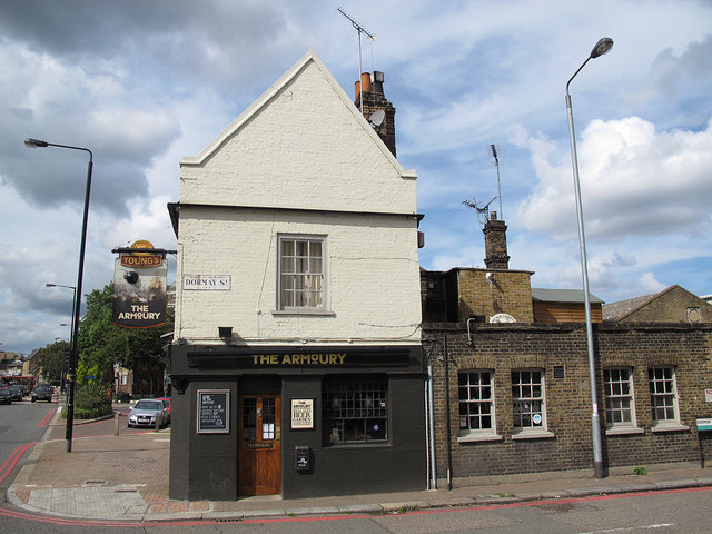 The Armoury pub