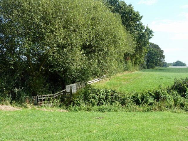 Footpath towards Saltmarsh Lane